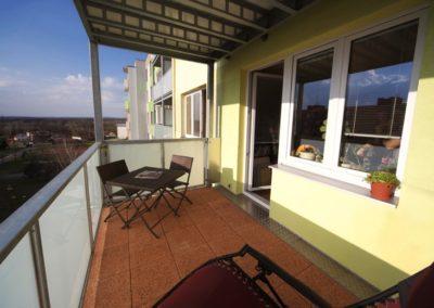 Interiér balkonu