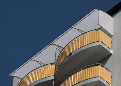 Strecha horný balkón