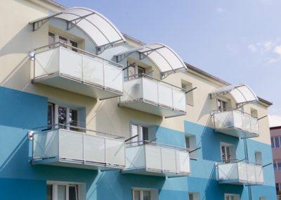 Závěsný ocelový balkon Normal
