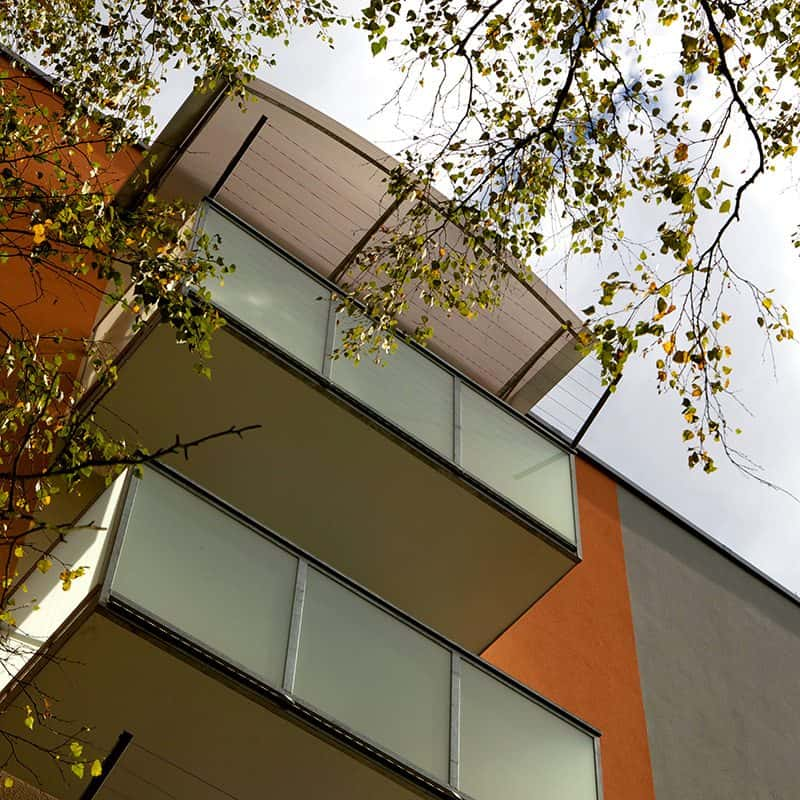 Balkon ocelový závěsný