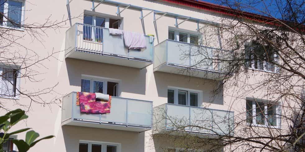 Sušenie bielizne na balkóne