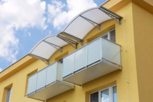 Oblá strecha, polykarbonát