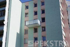 Atypický balkon