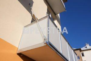 Detail kotvení balkonu táhly