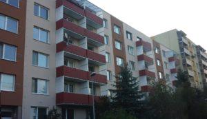 Balkóny po montáži