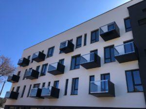 Balkóny kombinace