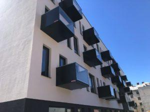 Balkóny kombinácie