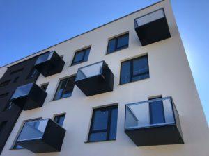Balkóny výplne kombinované