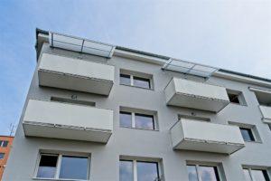 Hladká výplň balkónov