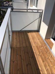 Krytie podlahy balkónov