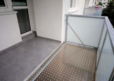 Rozšírenie betónovej lodžie
