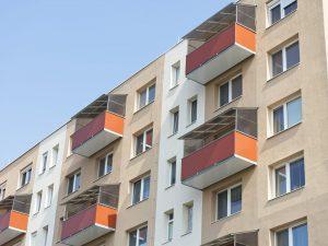 Balkóny s hladkou výplňou