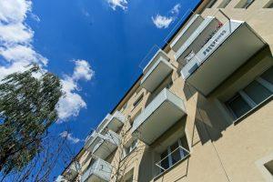 Balkóny s hliníkovou výplňou