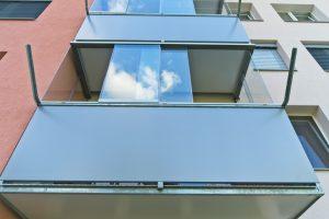 Zasklenie balkóna