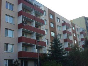 Balkóny po rekonštrucii